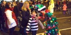 Trixie the Christmas Tree Clown