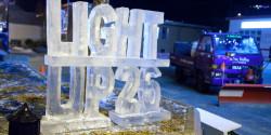 Light Up 26 Ice Sculpture