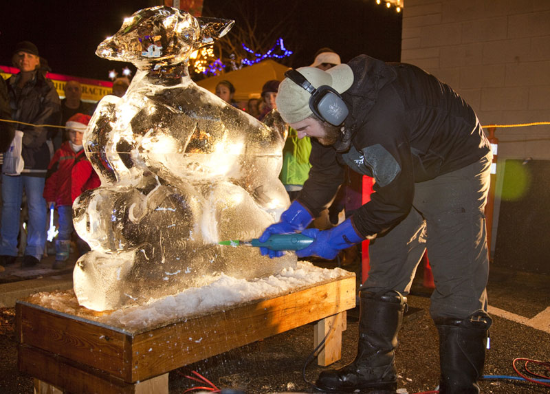ice-carving